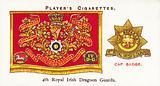 Drum Banners and Cap Badges, 4th Royal Irish Dragoon Guards