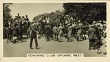 Coaching Club, Opening Meet