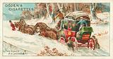 A Mail Coach in a Snow Drift
