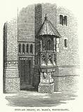 Open-Air Pulpit, St Mary's, Whitechapel