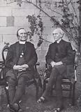 Frederick Temple, Archbishop of Canterbury, and William Maclagan, Archbishop of York, who crowned King Edward VII and Queen Alexandra, 1902