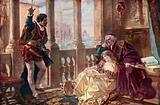 Othello, Desdemona and Brabantio, from Shakespeare's Othello