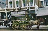 London horse bus, early 20th Century