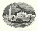 Souvenir of Venice, cameo designed by French sculptor Emile Soldi, 19th Century