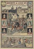 The minority of Louis XIV of France, the ministry of Cardinal Mazarin and the Fronde, 1643-1661