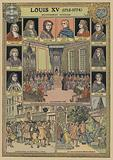Government and home affairs during the reign of Louis XV of France, 1715-1774