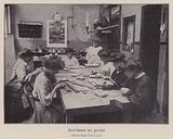 Women working with beads