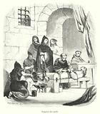 Torture under the Inquisition: holding the feet to the fire