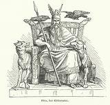 Odin, god of Norse mythology