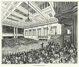 Meting of the Anti-Corn Law League in Exeter Hall, London, 1846