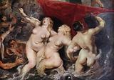 The Three Sirens (detail from Marie de' Medici's arrival in Marseille)