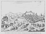 View of Assisi, Italy, during the time of St Francis of Assisi, late 12th - early 13th Century