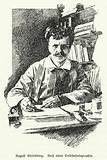 August Strindberg, Swedish playwright, novelist, poet and artist