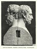 Double bust of Herodotus and Thucydides, Ancient Greek historians