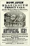 Glaciarium and Frozen Lake at the Baker Street Bazaar