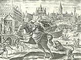 Walls and hanging gardens of Babylon
