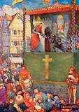 Medieval mystery play