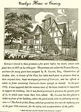 Abraham Cowley's house at Chertsey