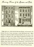 Receiving houses of the Spectator and Tatler