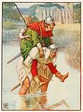 Robin Hood and Father Tuck