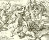David slays Goliath of Gath