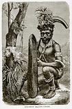 Solomon Island chief