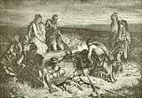 Burial of a Phoenecian chief on the American coast