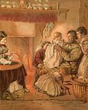 Illustration for Gray's Elegy
