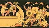 Ajax defending the Greek ships against the Trojans
