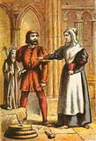 Priest's wife and the stonemason