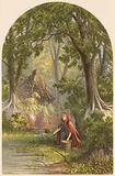Illustration for Goldsmith's The Deserted Village