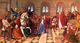 Sir Tristram at the Court of Arthur