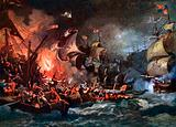 The defeat of the Armada