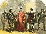 Cardinal Wolsey arrested for high treason