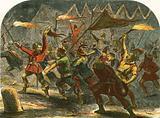 Jack Cade attacking London at night