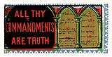 All thy commandments are truth