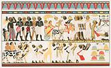 Hamitic art work: Wall inscriptions of Old Egypt