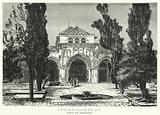 Porche De La Mosquee D'El, Aksa