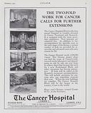Advertisement, The Cancer Hospital, Free