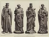 Four of the Statues from the High Altar Screen, Winchester Cathedral