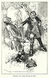 Illustration for Barnaby Rudge by Charles Dickens