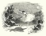 Illustration for the Ballet, Ondine or The Naiad