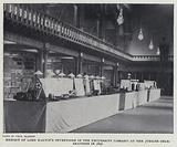 Exhibit of Lord Kelvin's Inventions in the University Library at the Jubilee Celebrations in 1896