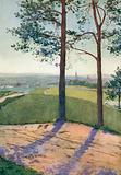 Distant View of Tabor, Bohemia