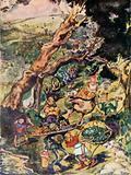 Illustration for Goblin Market by Christina Rossetti