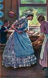 Illustration for Good Wives by Louisa M Alcott