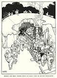 Illustration for Railway Ribaldry by W Heath Robinson