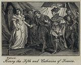 Henry the Fifth and Catharine of France
