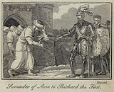 Surrender of Acre to Richard the First