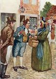 Illustration for Pride and Prejudice by Jane Austen